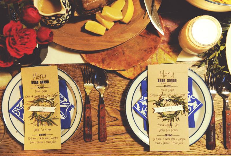 【DIY】ホームパーティーをちょっとおしゃれに!カンタン席札の作り方<br>|by ARCH DAYS編集部
