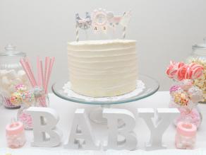 READY TO POP|ケーキ|ベビーシャワー事例写真|ARCH DAYS