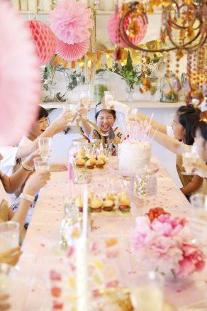 女の子の誕生日会