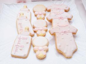 READY TO POP|アイシングクッキー|ベビーシャワー事例写真|ARCH DAYS