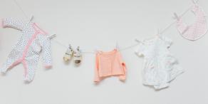 READY TO POP|赤ちゃん服デコレーション|ベビーシャワー事例写真|ARCH DAYS