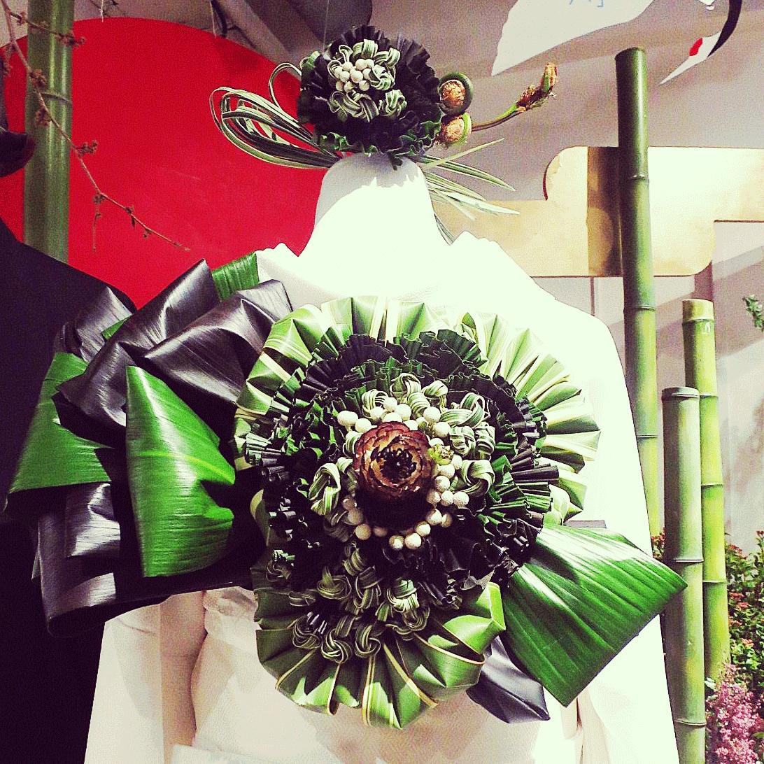 植物で彩る和装・着物ウェディングスタイル<br>|植物アーティスト密林東京の世界<br>by 密林東京 スズキアキコ