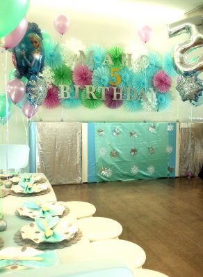 6 Frozen Birthdayparty – 2