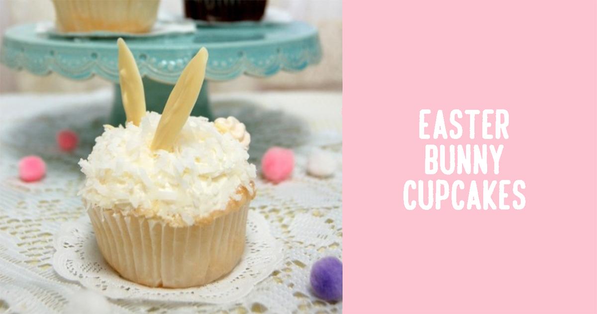 イースターに!うさぎの形の『バニーカップケーキ』簡単アレンジレシピ
