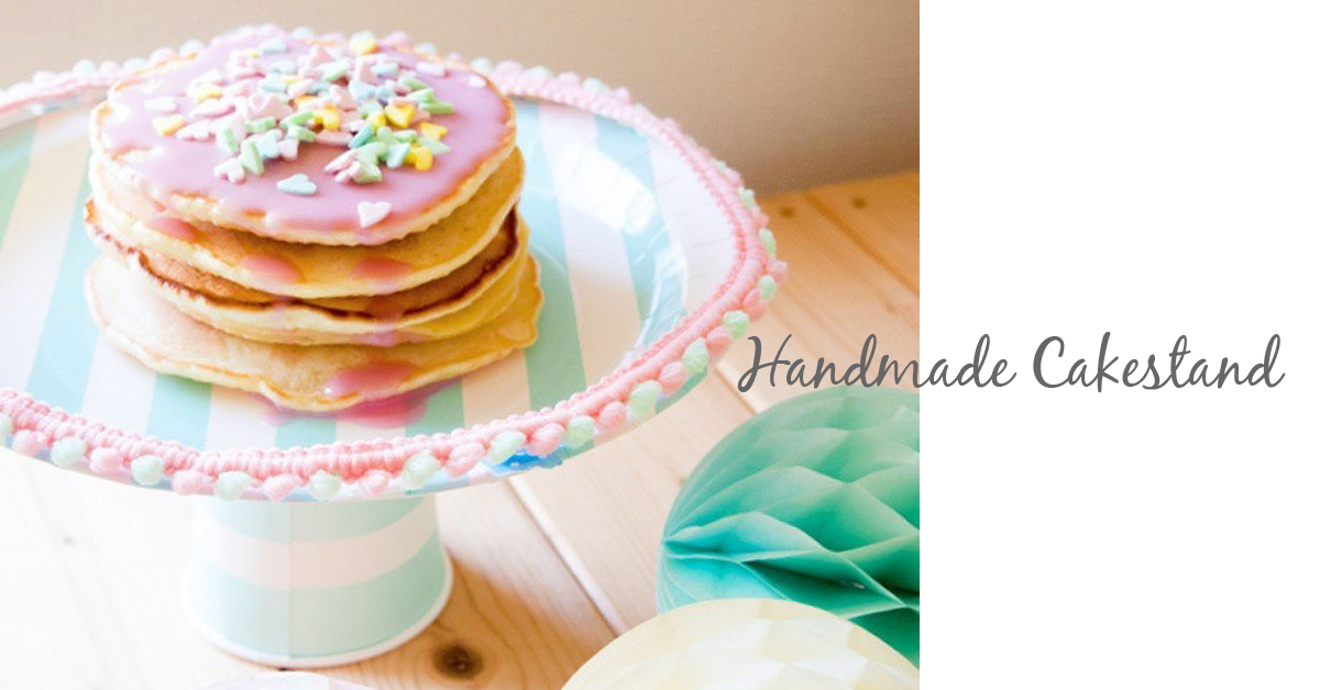 お誕生日やベビーシャワーに。自分で作れる簡単手作りケーキスタンドの作り方