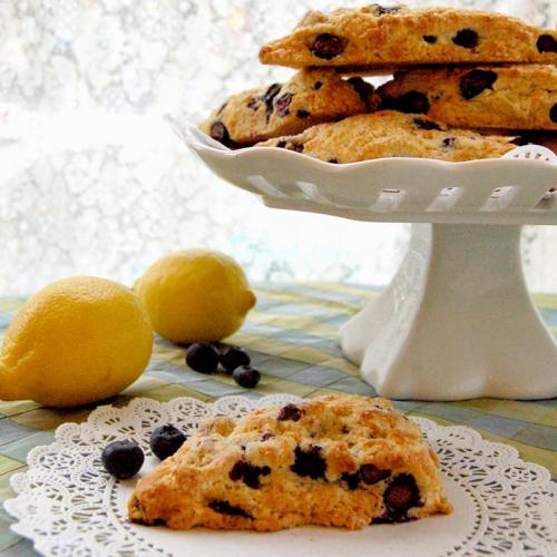 おもてなしにぴったり!ブルーベリーレモンスコーンのレシピ<br>|byマグノリアベーカリー