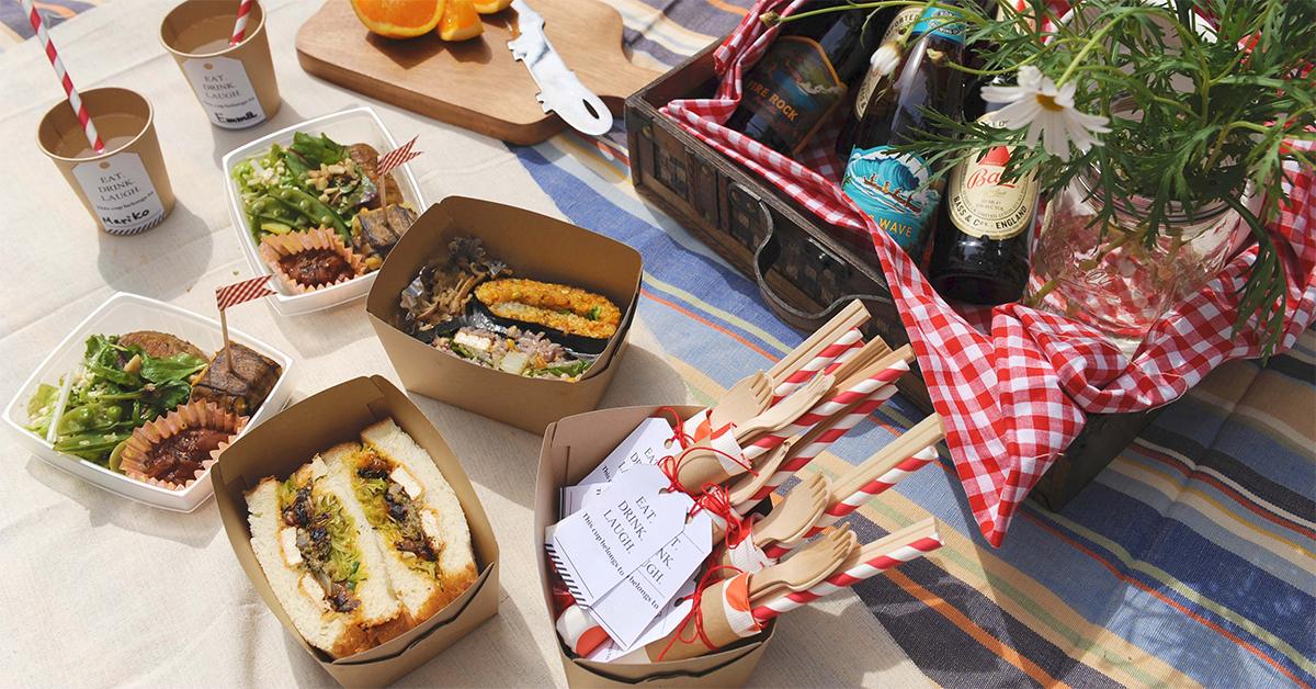 おしゃれピクニックでなに食べる?お弁当レシピを公開