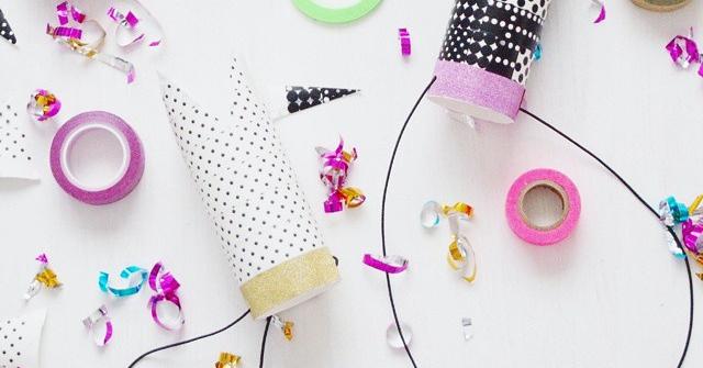 こどもの誕生日会に!紙筒でつくる王冠カチューシャの作り方