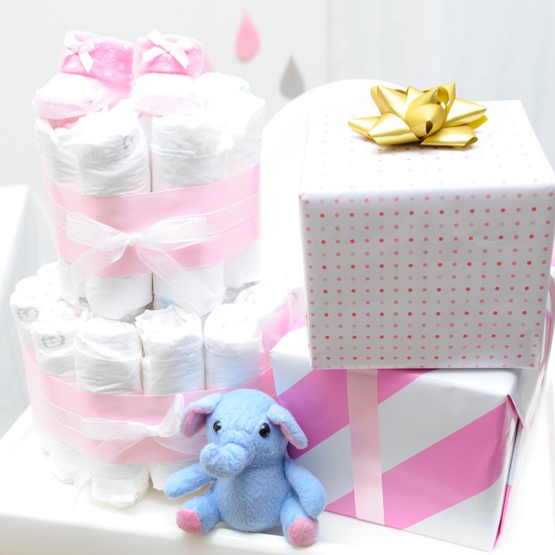 ベビーシャワーや出産祝いのプレゼントに!おむつケーキの作り方<br>|by ARCH DAYS編集部