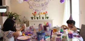 GIRLS CRAFT PARTY