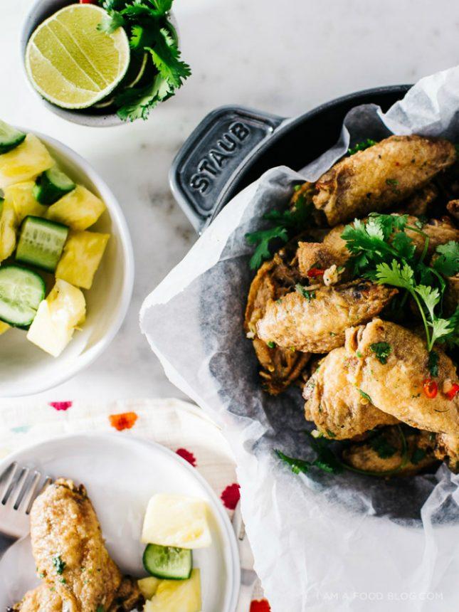 タイ風鶏手羽のオーブン焼き06