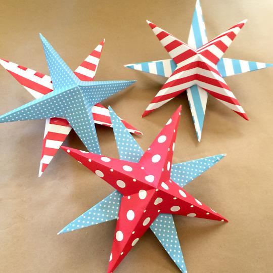 パーティーや部屋のデコレーションに!3Dスターバナーの作り方<br> Magnolia Bakery Blog by マグノリアベーカリー