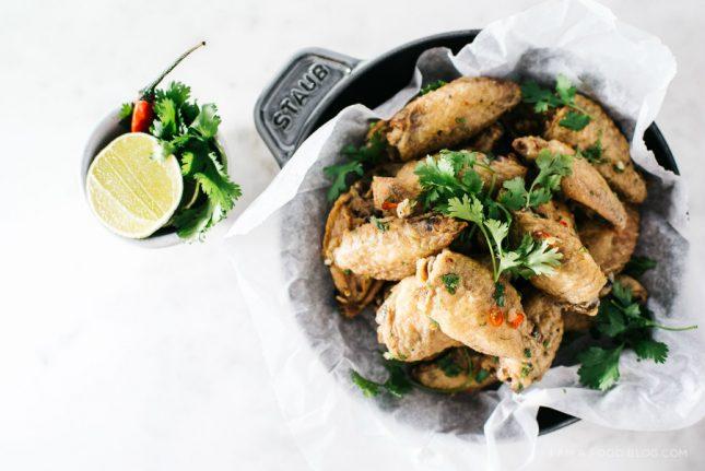 タイ風鶏手羽のオーブン焼き03