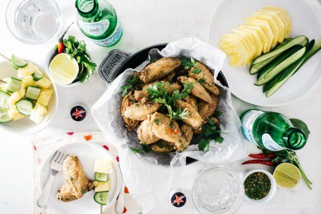 タイ風鶏手羽のオーブン焼き04