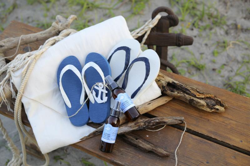 テイクアンドギブニーズ可愛いビーチウェディングの写真