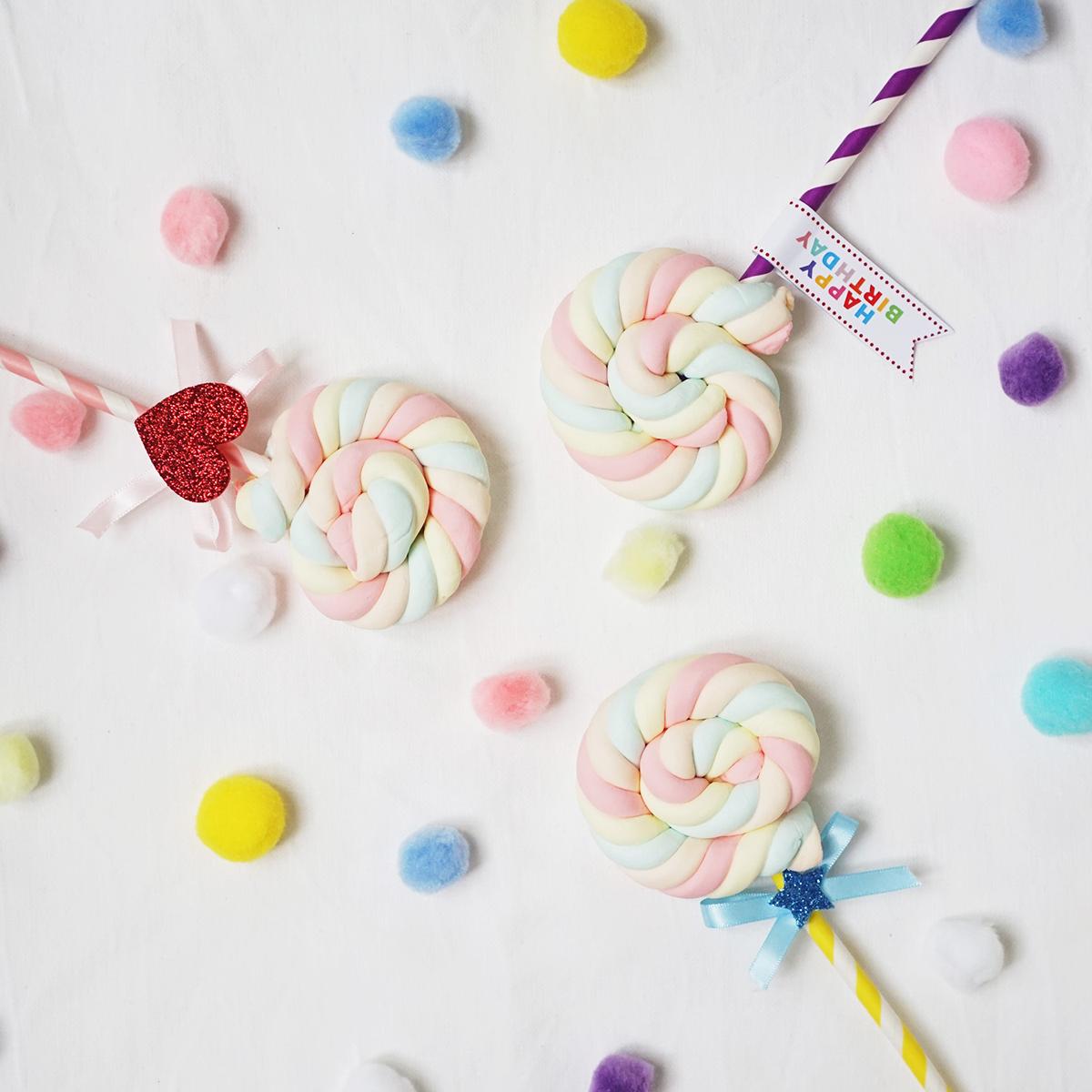 ギフトにもぴったりのパーティーフードに大変身!ロリポップ型マシュマロの作り方<br>│Let's Happy! Smile! Party! by OIWAI LABO