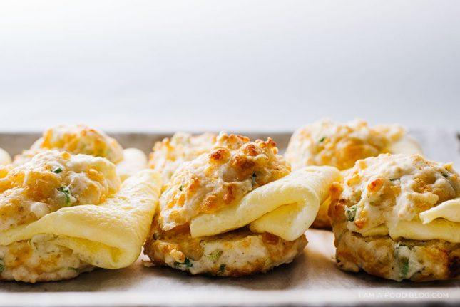 サワークリームとチェダーチーズのドロップビスケット03