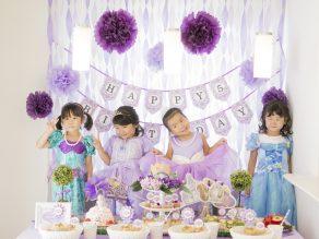 THE FIRST UPON A PRINCESS|プリンセステーマのお誕生日会|バースデー事例|OIWAI LABO|ARCH DAYS