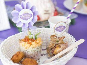 THE FIRST UPON A PRINCESS|プリンセステーマの誕生日会の食べ物|バースデー事例|OIWAI LABO|ARCH DAYS