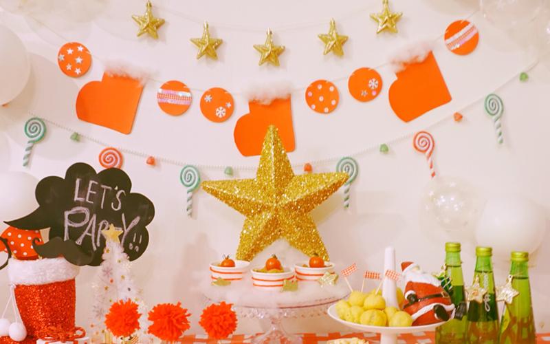 クリスマスの万能アイテム!オーナメントの活用術<br>|by Party For You
