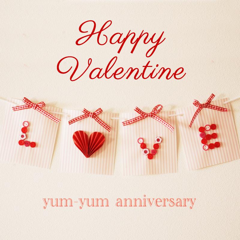 バレンタインにぴったり!手作り「LOVE」グリーティングカードを作ろう<br>|by yum-yum anniversary