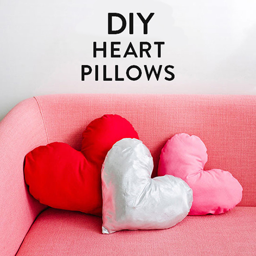 【海外blog】もうすぐバレンタイン!簡単ハート型クッションの作り方 <br /> |by designlovefest