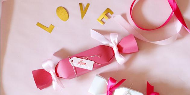バレンタインに!手作りのキャンディ型ギフトボックスで簡単ラッピング