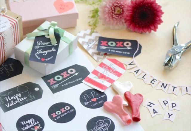 バレンタインのプレゼントに♪DIYラッピングに使えるギフトタグを無料配布|by Little Lemonade | ARCH DAYS