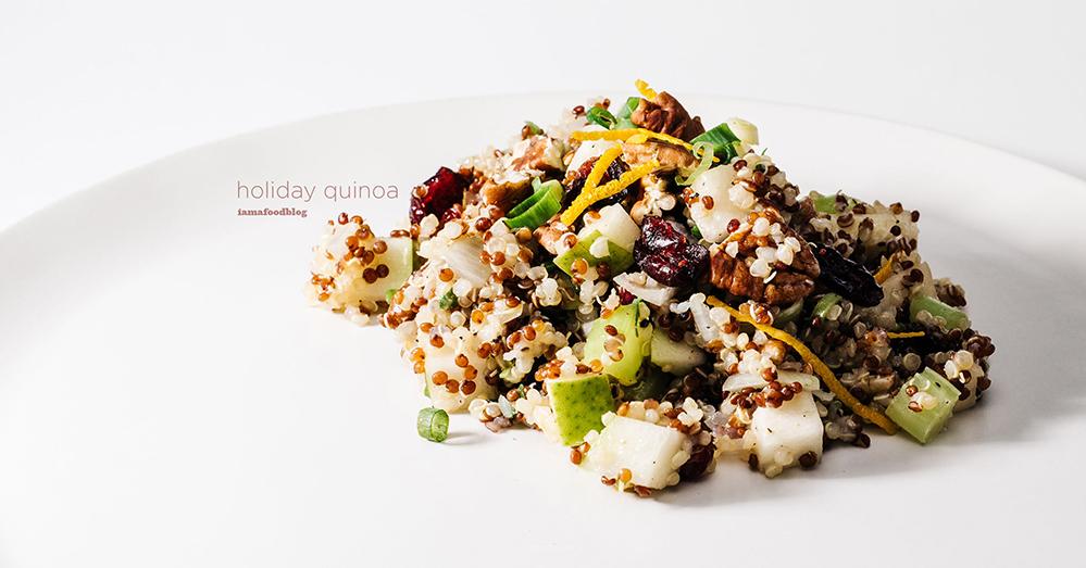 作り置きできる美容食「キヌアサラダ」のレシピ