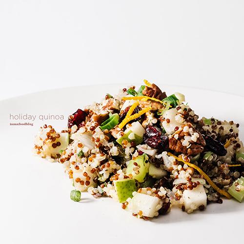 作り置きできる美容食「キヌアサラダ」のレシピ<br />|i am a food blog by Stephanie Le