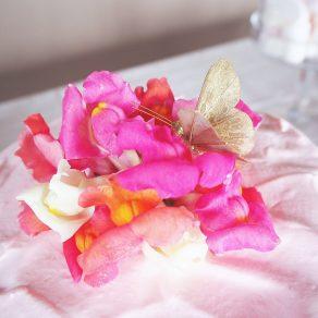 BUTTERFLIES IN PINK|ケーキ|バースデー事例|Tokyo Flamingo|ARCH DAYS