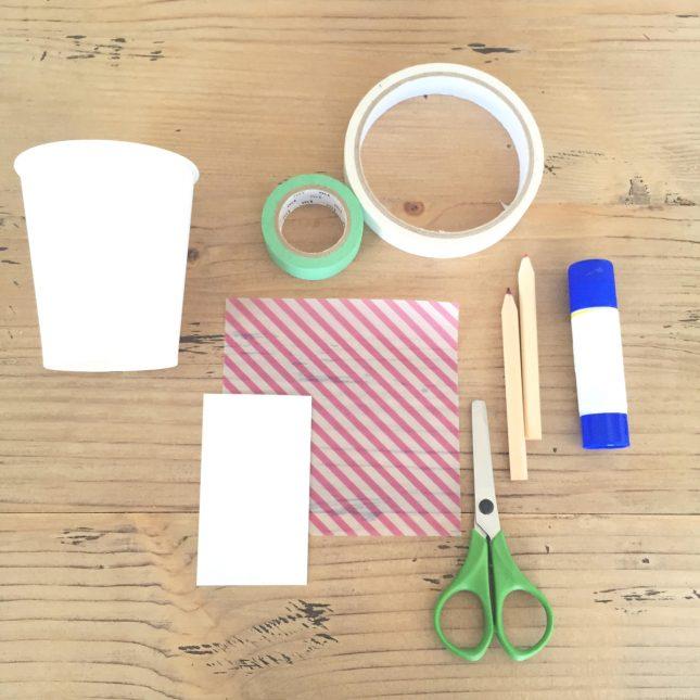 イースターバニーカップの作り方|材料