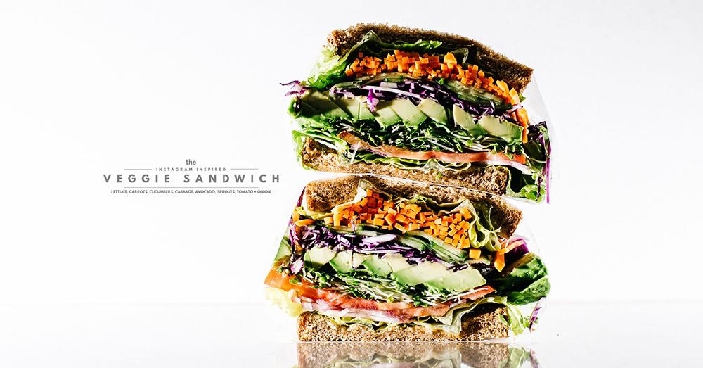 ブランチやピクニックに♪野菜たっぷりわんぱくサンドの作り方<br> i am a food blog by Stephanie Le