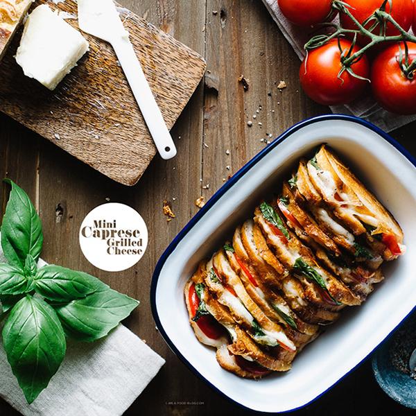 ホームパーティやピクニックにもおすすめ!『ミニカプレーゼのグリルチーズサンド』レシピ<br>|i am a food blog by Stephanie Le