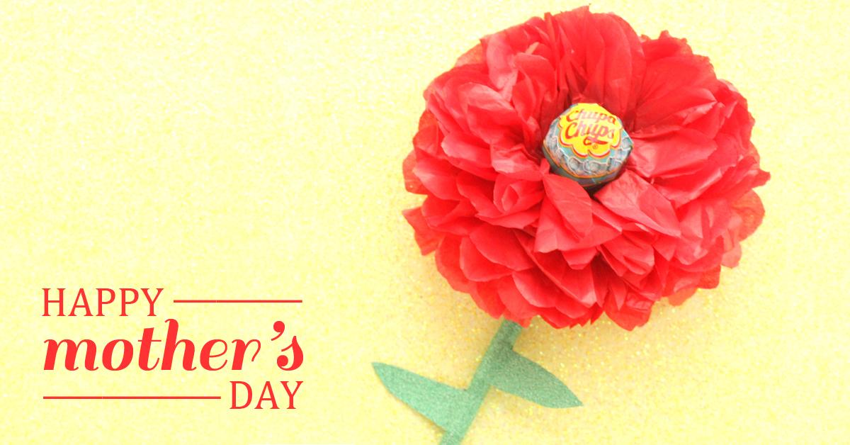 母の日にぴったり♪100円ショップの材料でつくるキャンディフラワー<br> by Mary&#8217;s party couture