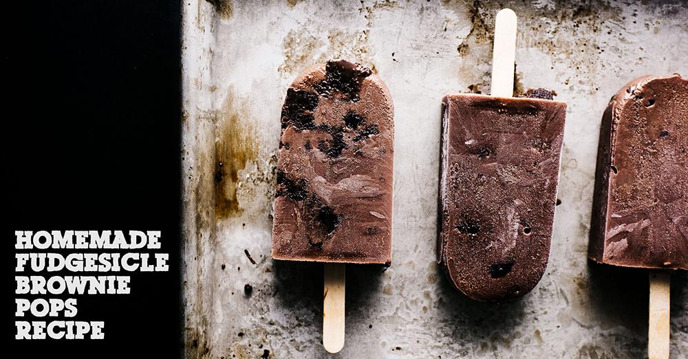 夏は涼しく!チョコファッジブラウニーのアイスキャンディーレシピ