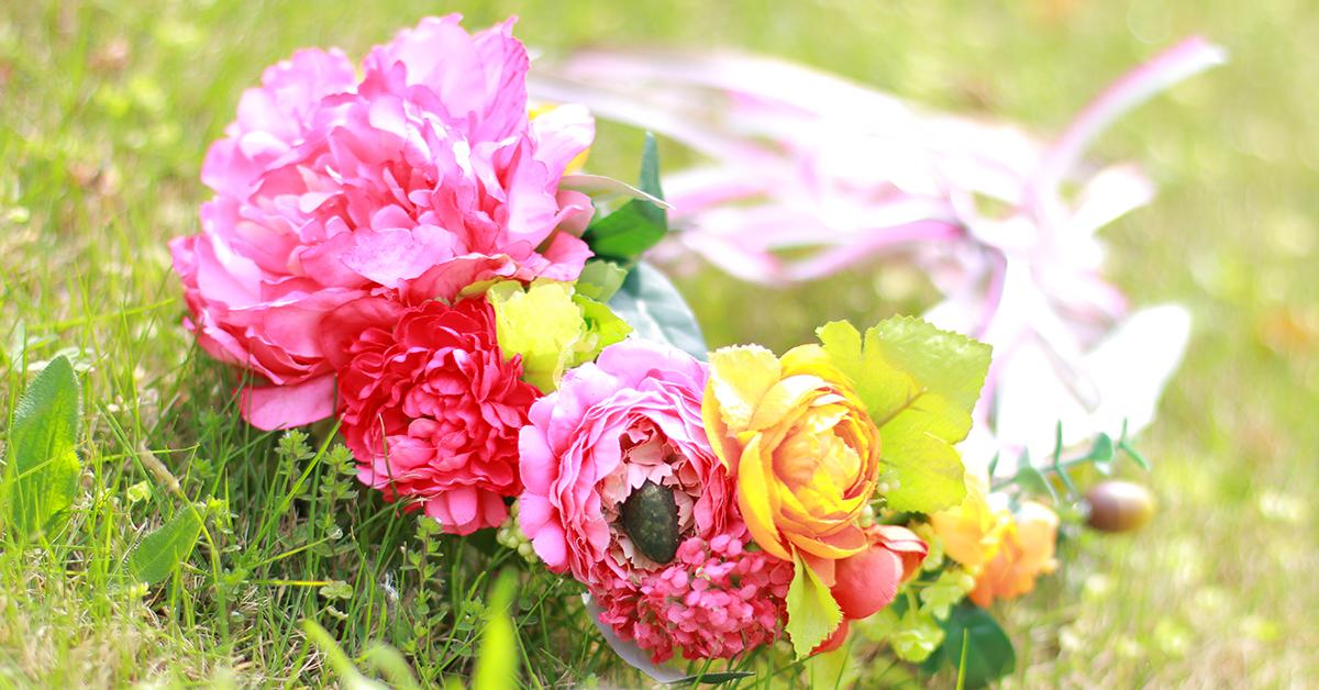 大切な日を彩る花冠を自分で作ってみよう!