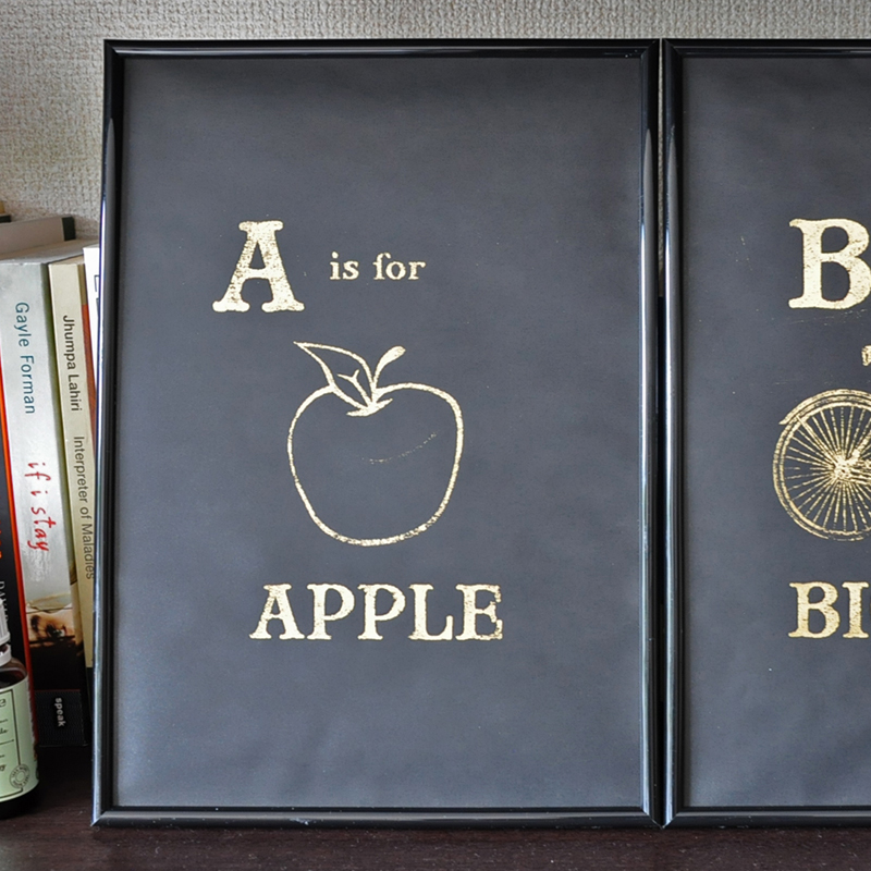 ゴールドのアイロンプリントでDIY装飾も自由自在に♪<br/>|by ARCH DAYS編集部