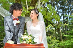 DO IT OURSELVES|新郎新婦|ウェディング実例写真|FUSIONwedding|ARCHDAYS