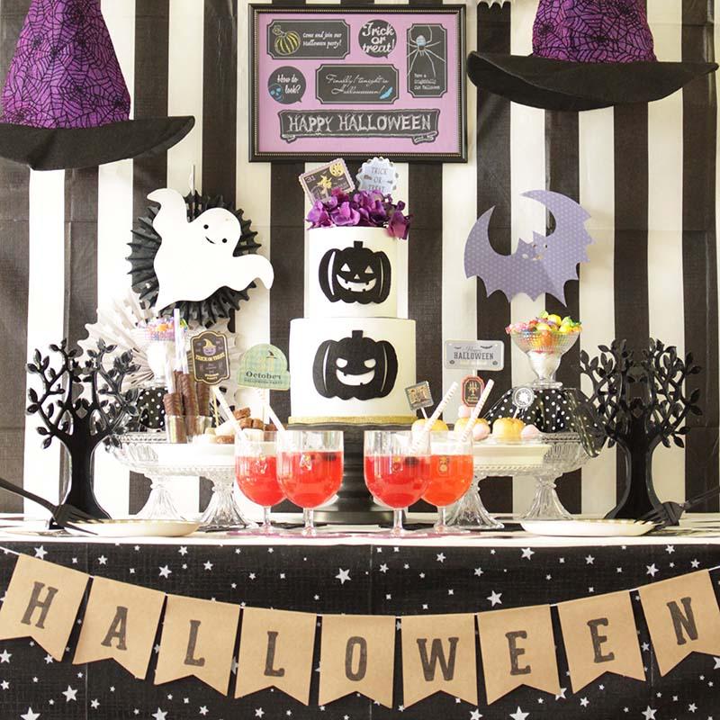 ハロウィン・アイディアリレー「カワイイ魔女のHalloween Party」<br/>|by Anniversary Planner School
