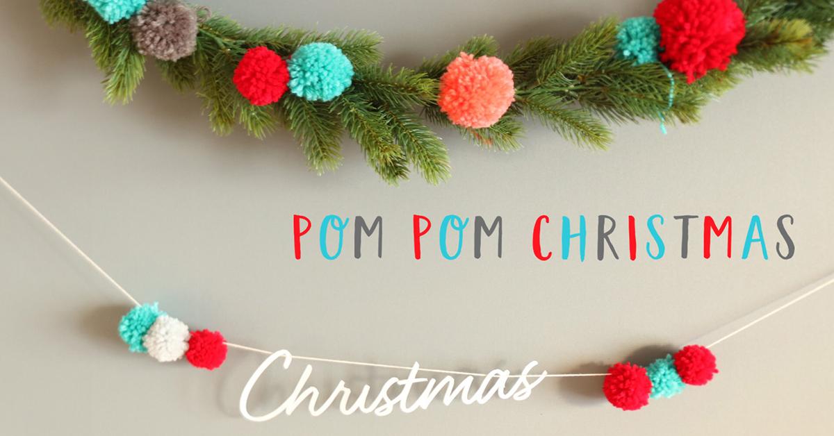 あったかポンポンで作るカラフルなクリスマススタイリング♪<br>|by Little Special Studio