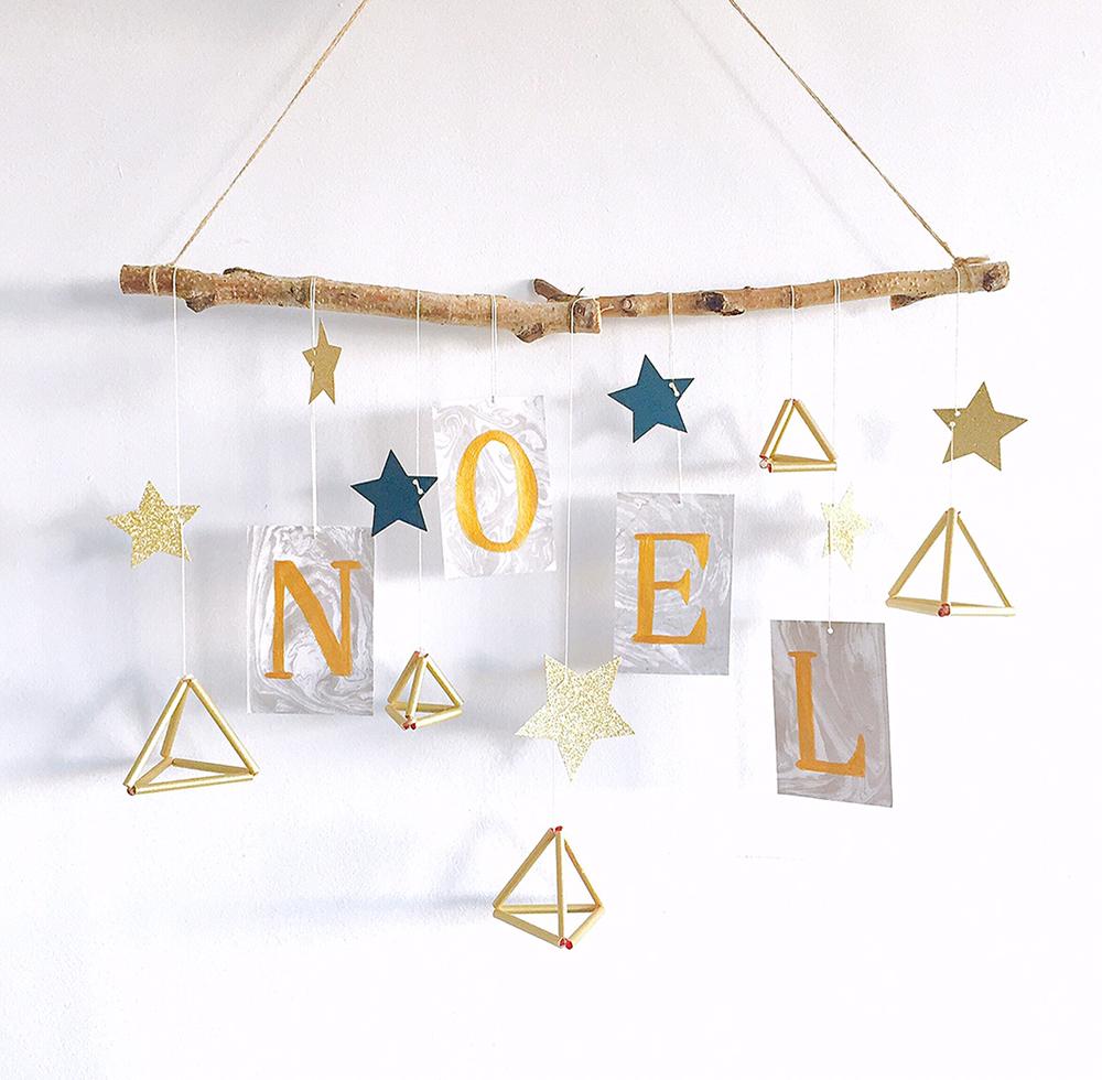 【簡単クリスマス装飾】ストローで作るヒンメリピラミッド<br />|En effet on fête! by mon_petit_lion