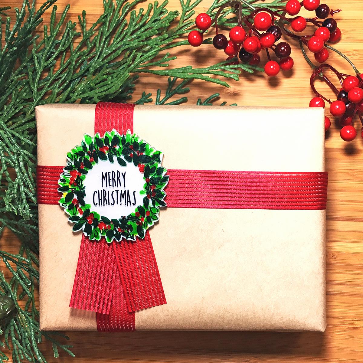 【デザイン無料配布中】プラバンロゼットをつくろう-クリスマス編-<br>|by ARCH DAYS編集部