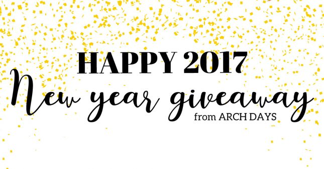ARCH DAYSからの新年プレゼントまとめ♪応募締め切りは1月20日まで!<br>|by ARCH DAYS編集部