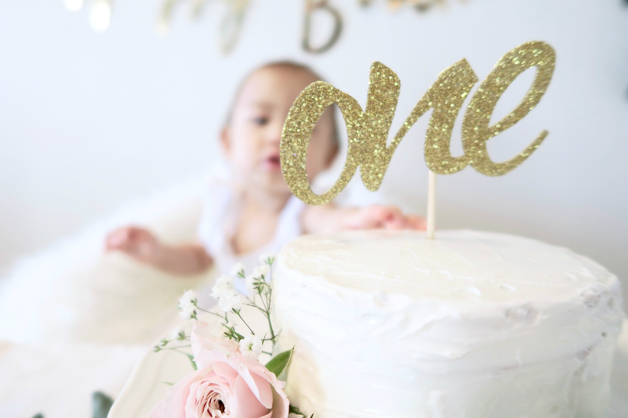 1歳誕生日ケーキ