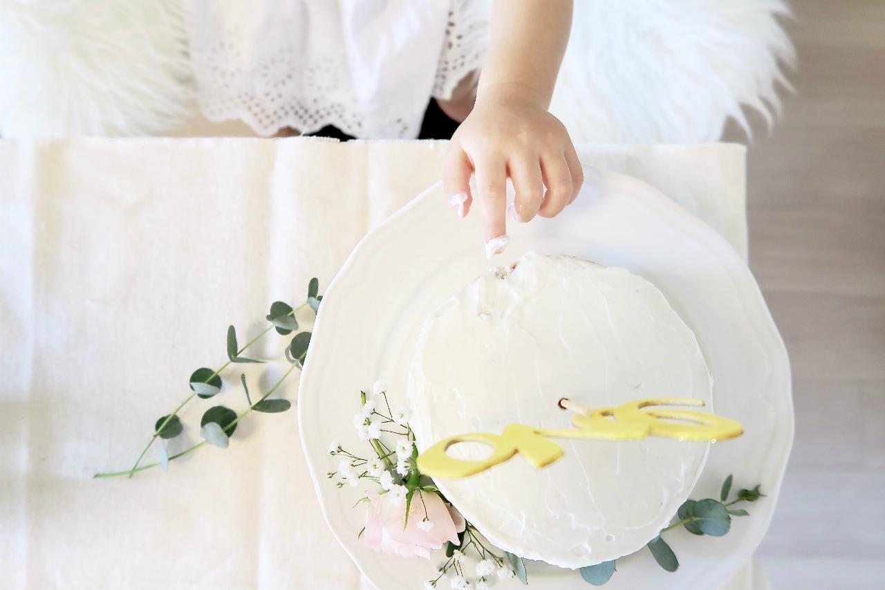 シンプルなケーキ