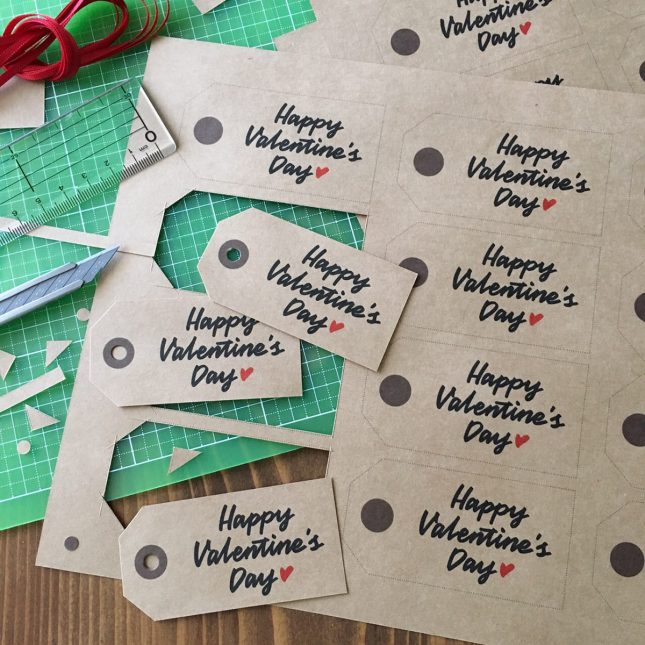 【デザイン無料配布】バレンタインで大活躍♪オリジナルギフトタグ| by TAM'S WORKS|ARCH DAYS