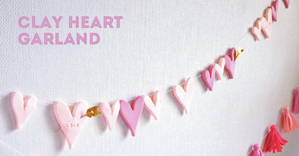 バレンタイン気分を上げる♡プチプラで立体ハートのガーランドをDIY<br>|by Party for you