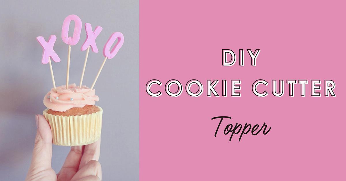 クッキー型で簡単!オリジナルのバレンタイントッパーを作ろう