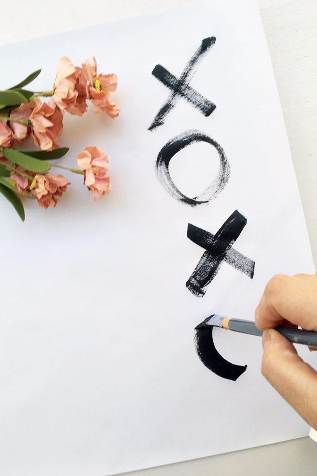 周りと差がつく!DIYラッピングペーパーの作り方|by Glitter Party Styling|ARCH DAYS
